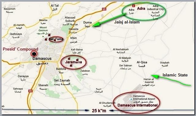 Damascus map