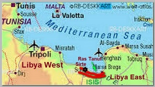 Libya map A