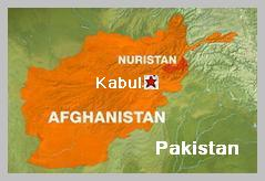 Afghanistan Kabul map
