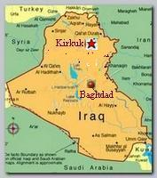 Kirkuk Iraq map