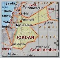 Amman, Jordan map