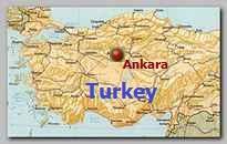 Ankara, Turkey map