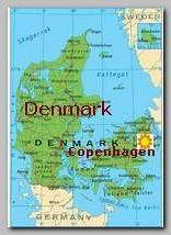 Denmark, Copenhagen map